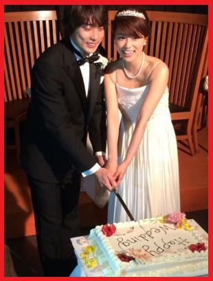 本田朋子ケーキ入刀画像