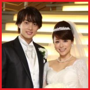 本田朋子ウェディングドレスアップ画像